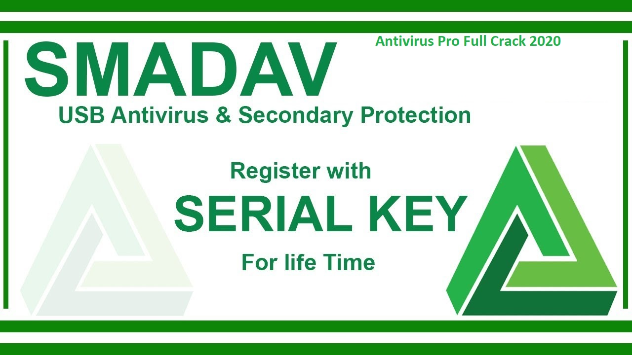 SmadAV Antivirus Pro 13.4 Crack 2020 Activation Code