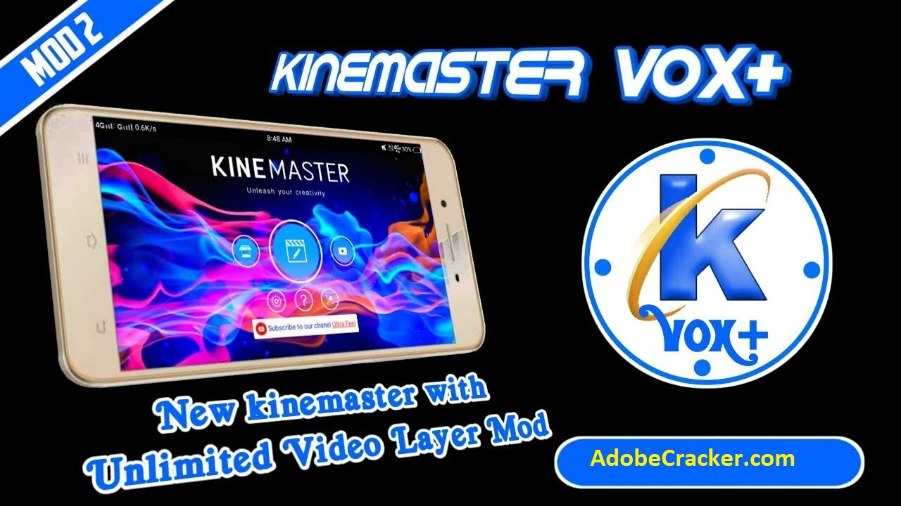 KineMaster Pro 5.3 Crack APK MOD [For PC] 2020 Promo Code