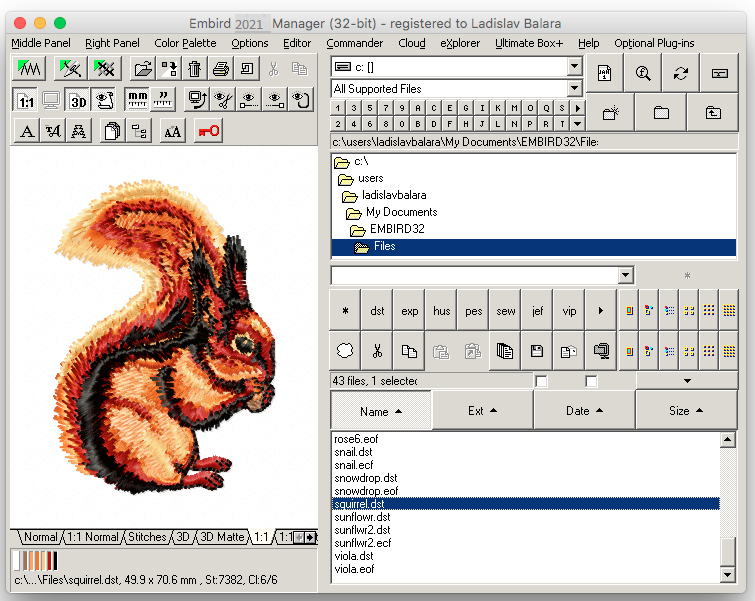 Embird 10.47 Crack 2021 [WIN-MAC] Torrent Free Registration Key